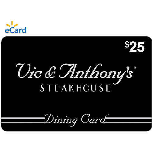Vic & Anthony's $25 eGift Card (Email Delivery)