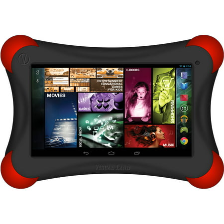 Visual Land Prestige 7u0022 Quad Core Tablet 16GB includes Bumper
