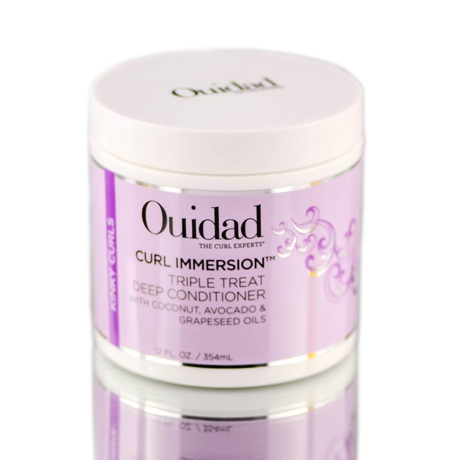 Ouidad Curl Immersion Triple Treat Deep Conditioner - 12 oz