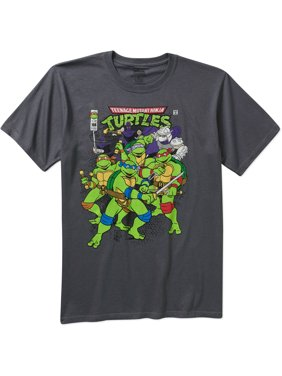 38af5a3a Product Image Men's Graphic Short Sleeve T-Shirt. Product TitleTeenage  Mutant Ninja TurtlesMen's ...