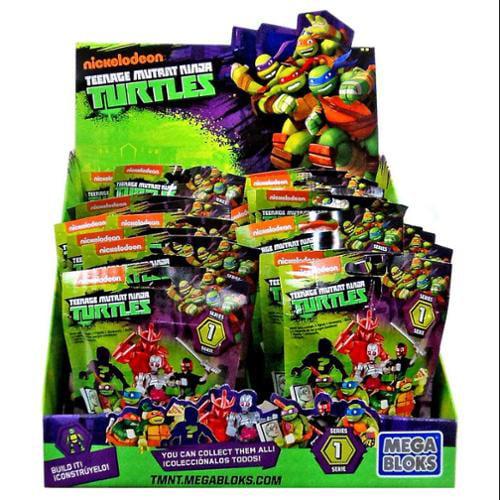 Mega Bloks Teenage Mutant Ninja Turtles TMNT Series 1 Mystery Box