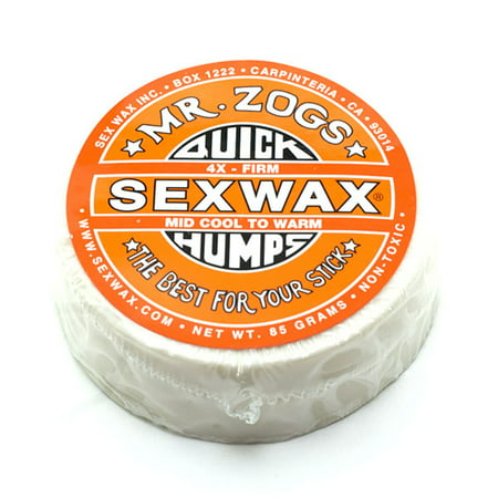 Sex Wax Quick Humps 4X Surf Wax Pack Of 2 Mr  Zogs