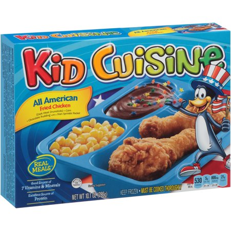 Kid cuisine all american fried chicken meal 10 1 oz for All american cuisine