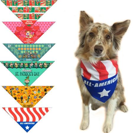 Medium Dog Bandana (Holiday Dog Bandanas - Medium to Large Dogs - Holiday Bandana)