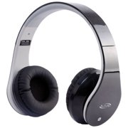 iLive IAHB64R Bluetooth Stereo Headphones with Microphone, Red