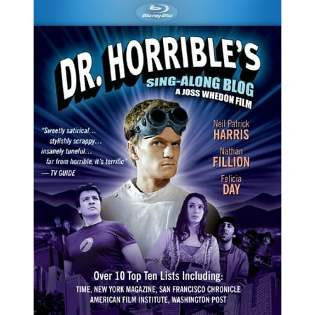 Dr  Horribles Sing A Long Blog  Blu Ray