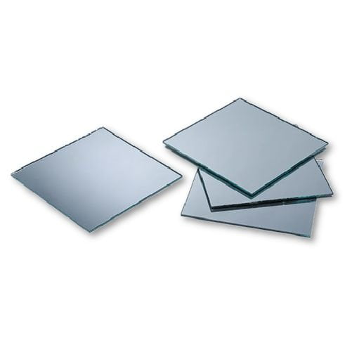 Small Mirror Pieces: 2 Inch Glass Craft Small Square Mirrors Bulk 50 Pieces
