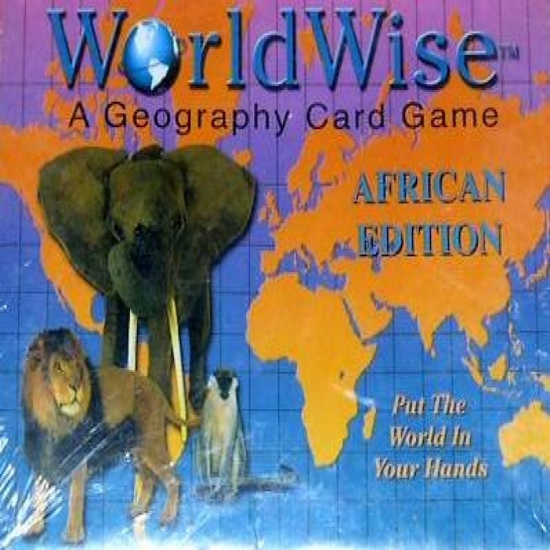World Wise Geography Card Game African Edition by