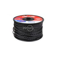 Trimmer Line .105 Small Spool. (.105 X 185' Spool) Black.