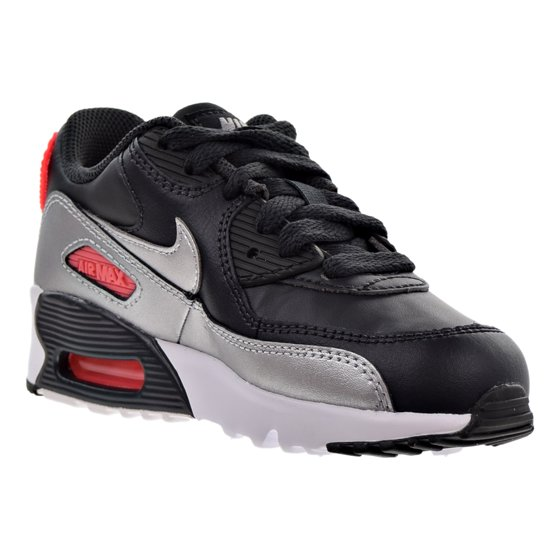 5405578ed4e3 Nike - Nike Air Max 90 Leather Little Kids (PS) Shoes Anthracite ...
