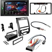"KIT4712 Bundle for 2009-2012 Ford F150 W/ Pioneer Double DIN Car Stereo with Bluetooth/Backup Camera/Installation Kit/in-Dash DVD/CD AM/FM 6.2"" WVGA Touchscreen Digital Media Receiver"