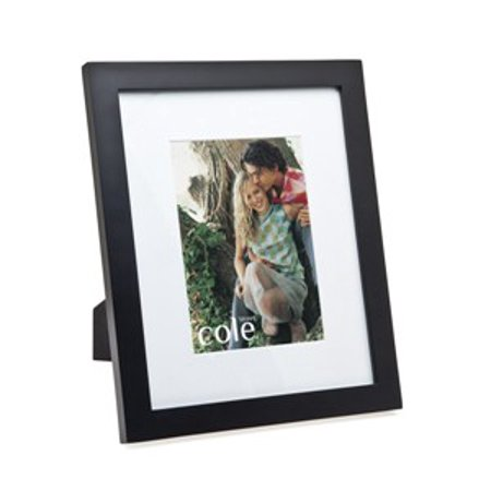 7x94x6 Matted Black Wood Picture Photo Frame Standing Horizontal Or