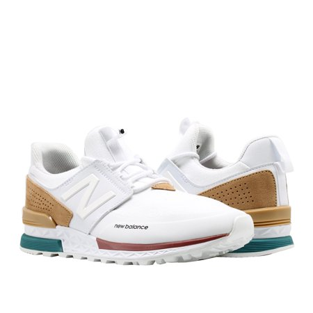 promo code 14509 aaf77 New Balance - New Balance 574 Sport White Hemp Men s Running Shoes MS574DTA  - Walmart.com