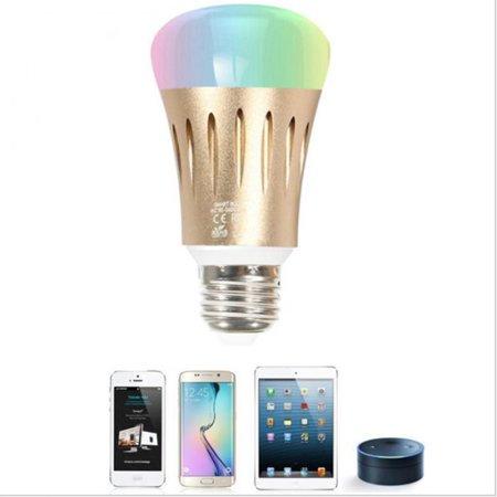 Newest 7W Smart LED Light Bulb E27/E14/B22 WiFi Remote