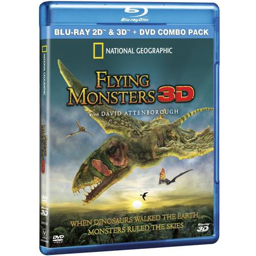 Flying Monsters (3D Blu-ray + Blu-ray + DVD) (Widescreen)