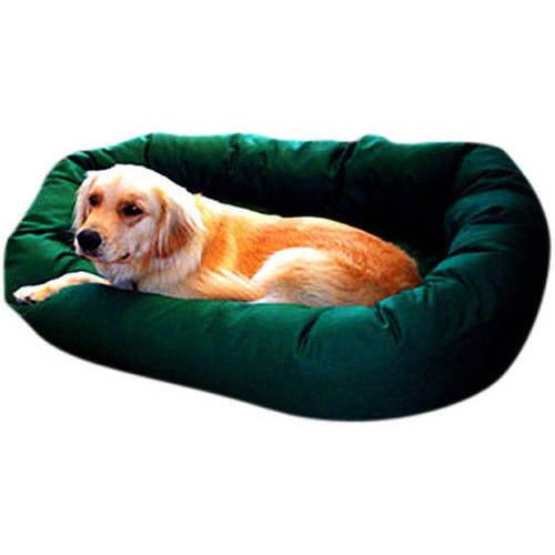 Large 40'' Majestic Pet Bagel Bed Multiple Colors