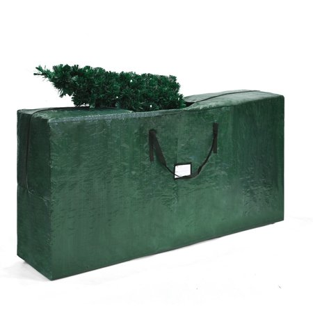Gymax Christmas Tree Storage Bag Heavy Duty PE Large Container For 9ft Artificial Tree ()