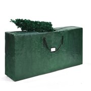 Gymax Christmas Tree Storage Bag Heavy Duty PE Large Container For 9ft Artificial Tree