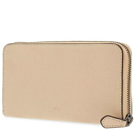 Coach Ladies Zip Around Wallet 1941 Cream Co Glvt Ppl Acc Zip ()