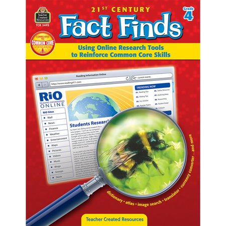 21St Century Fact Finds   Using Online Research Tools To Reinforce Common Core Skills  Grade 4