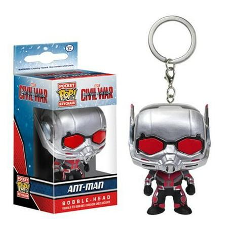- Captain America: Civil War Ant-Man Pocket Pop! Key Chain