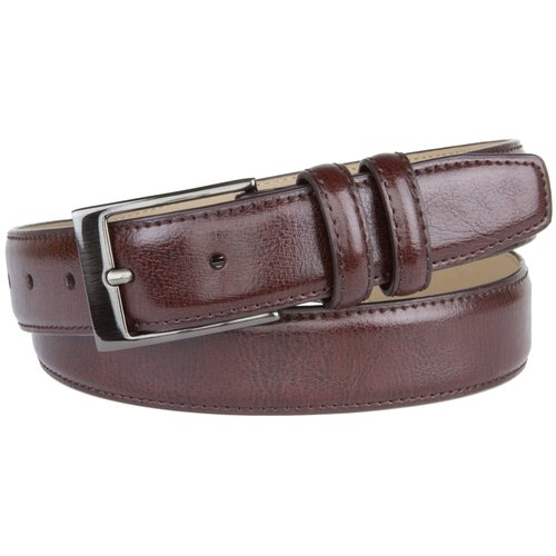 George Men's Feather Edge Dress Belt