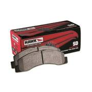 Hawk Chevy/GMC Express/Silverado/Savana/Sierra 15/25/35/4500 SuperDuty Rear Street Brake Pads
