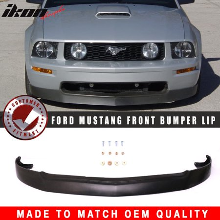 - Fits 05-09 Ford Mustang V8 GT 4.6L Front Bumper Lip Chin Spoiler