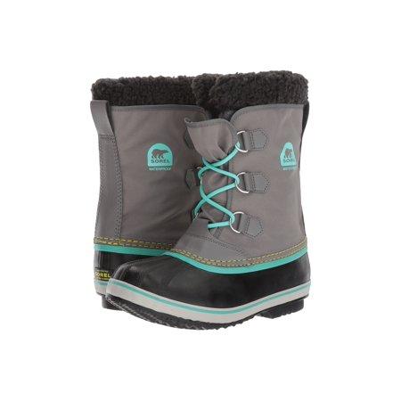 32cd5c91858 SOREL - Sorel Youth Yoot Pac Nylon Cold Weather Boot Quarry/Dolphin 3 M US  Little Kid - Walmart.com