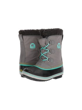 f7486462 Product Image Sorel Youth Yoot Pac Nylon Cold Weather Boot Quarry/Dolphin 3  M US Little Kid