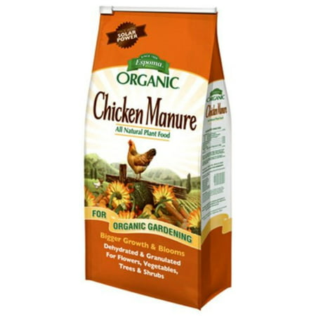 GM25 Organic 3-2-3 Chicken Manure, 25 lb, All natural and organic chicken manure By