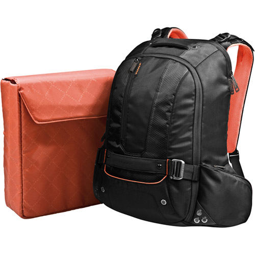 "Everki Beacon Laptop Backpack with Gaming Console Sleeve, fits up to 18"" (EKP117NBKCT)"