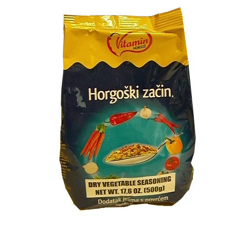 Horgoski Zacin, Dry Vegetable Seasoning (Vitamin) 500g (17.6 oz)