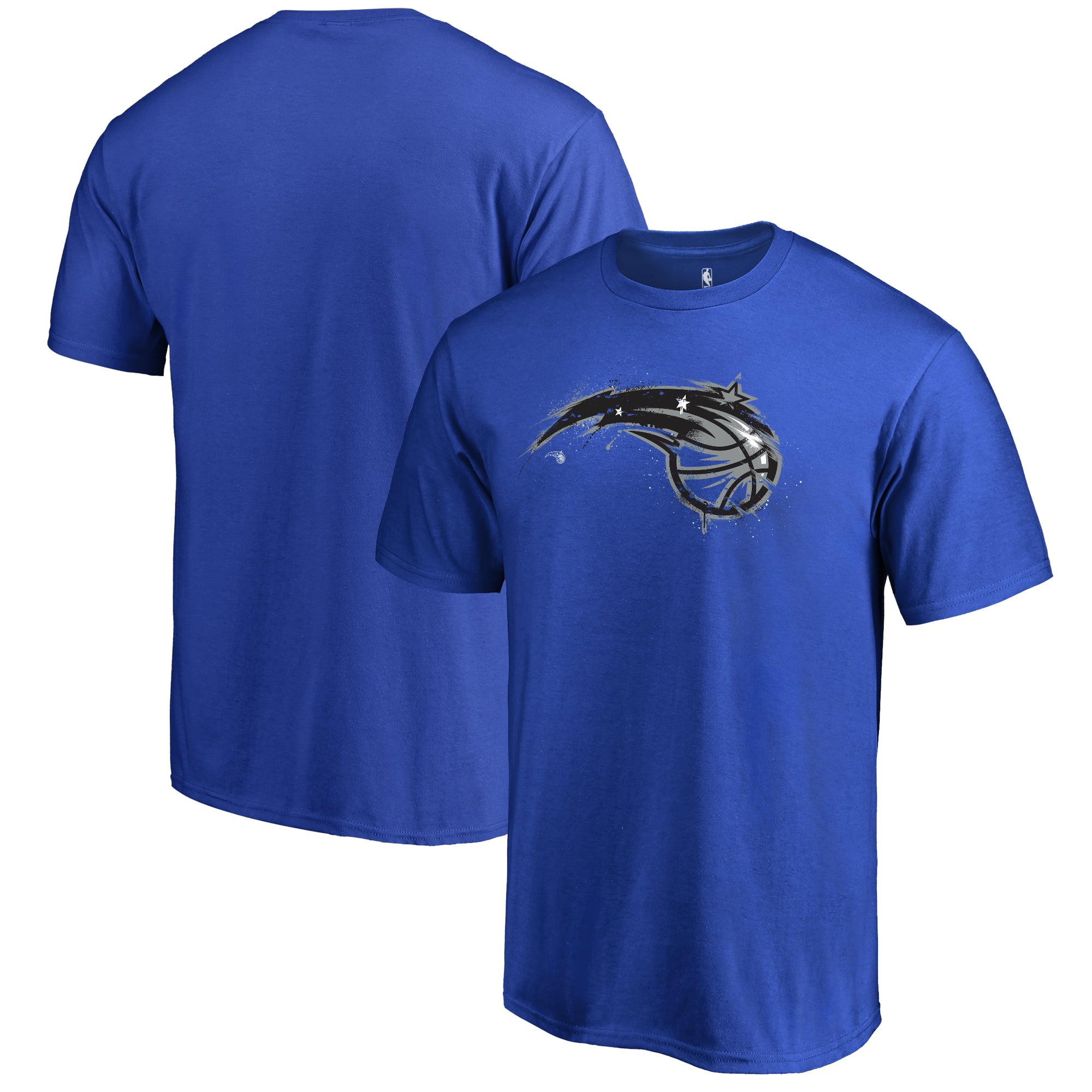 Orlando Magic Fanatics Branded Splatter Logo T-Shirt - Royal