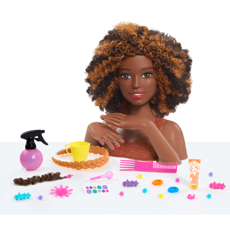 Barbie Deluxe Styling Head - Curly Hair