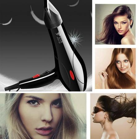 Professional Hair Blow Dryer 2200W Black Heat Blower Dryer Beauty Salon ()