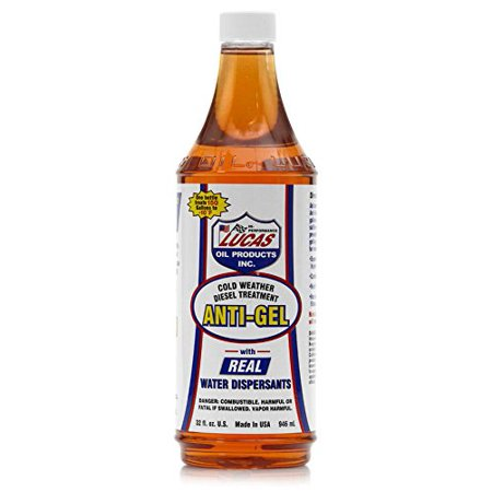 Lucas Oil 10865 Anti-Gel Cold Weather Diesel Additive - 32 fl.