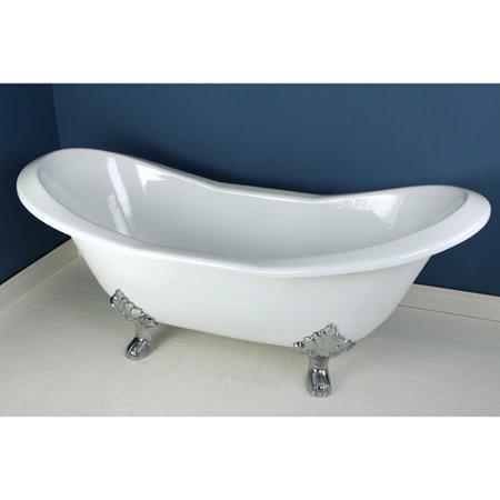 Kingston Brass Aqua Eden Soaking Bathtub Walmart Com