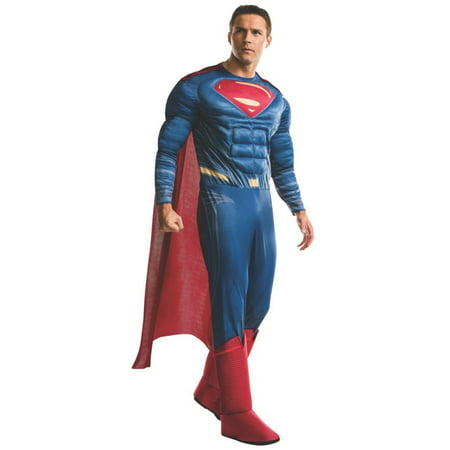 Halloween Batman v Superman Dawn of Justice: Superman Deluxe Adult Costume](Bts V Halloween)