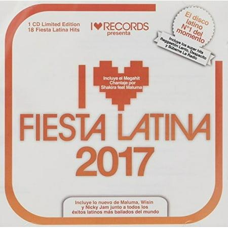 I Love Fiesta Latina 2017 / Various](Fiestas De Halloween 2017)