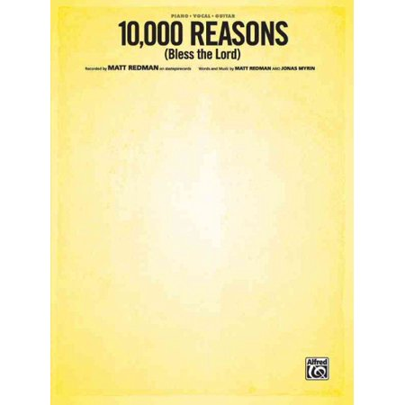 10,000 Reasons (Bless the Lord) : Piano/Vocal/Guitar,
