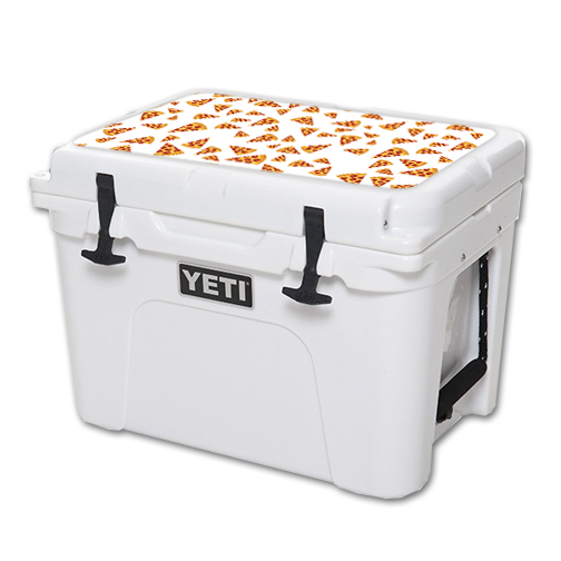 MightySkins Protective Vinyl Skin Decal for YETI Tundra 35 qt Cooler Lid wrap cover sticker skins Body By Pizza