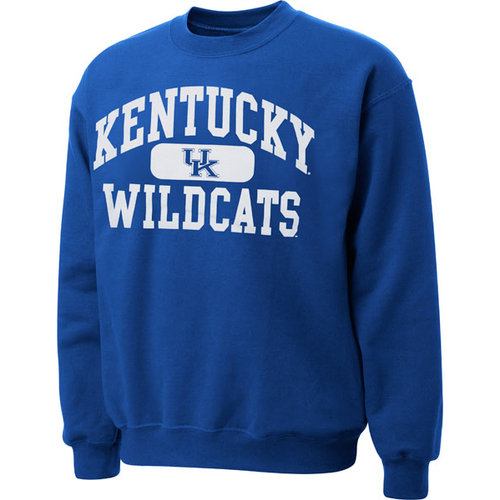 NCAA - Kentucky Wildcats Royal Piller Crewneck Sweatshirt
