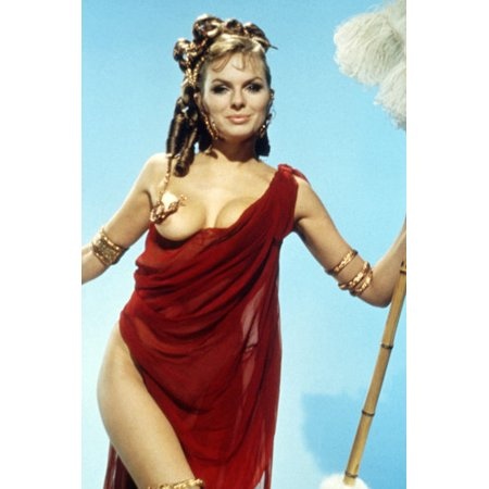 Up Pompeii Julie Ege Busty in Revealing Costume 24x36 Poster - Julie Ann Art Halloween Costumes