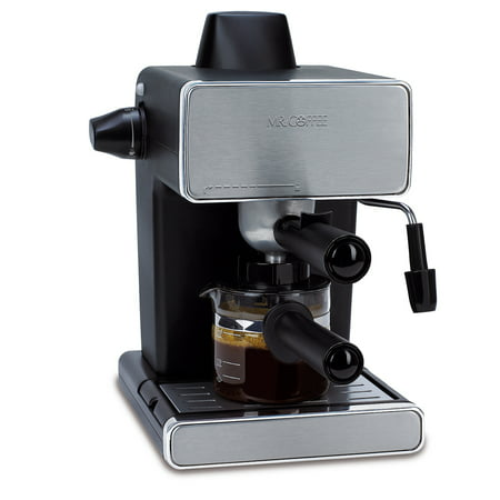 Mr. Coffee Espresso Maker, Stainless Steel and Black, BVMC-ECM260