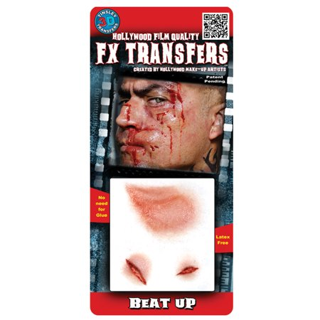 Beat Up 3D Tattoo Adult Halloween - Asa Made Halloween