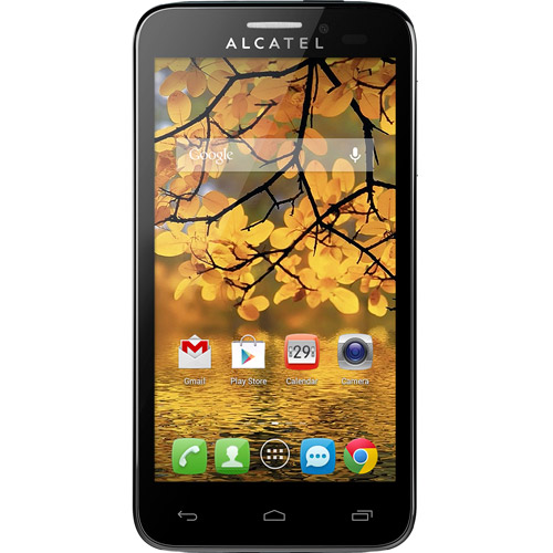Walmart Family Mobile Alcatel One Touch Fierce Cell Phone
