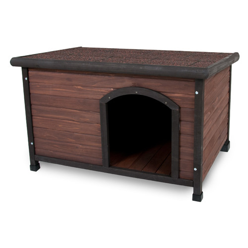 Petmate Doskocil Co Inc 25039 25-to-50-lbs Ruff Hauz Peak Roof Dog House