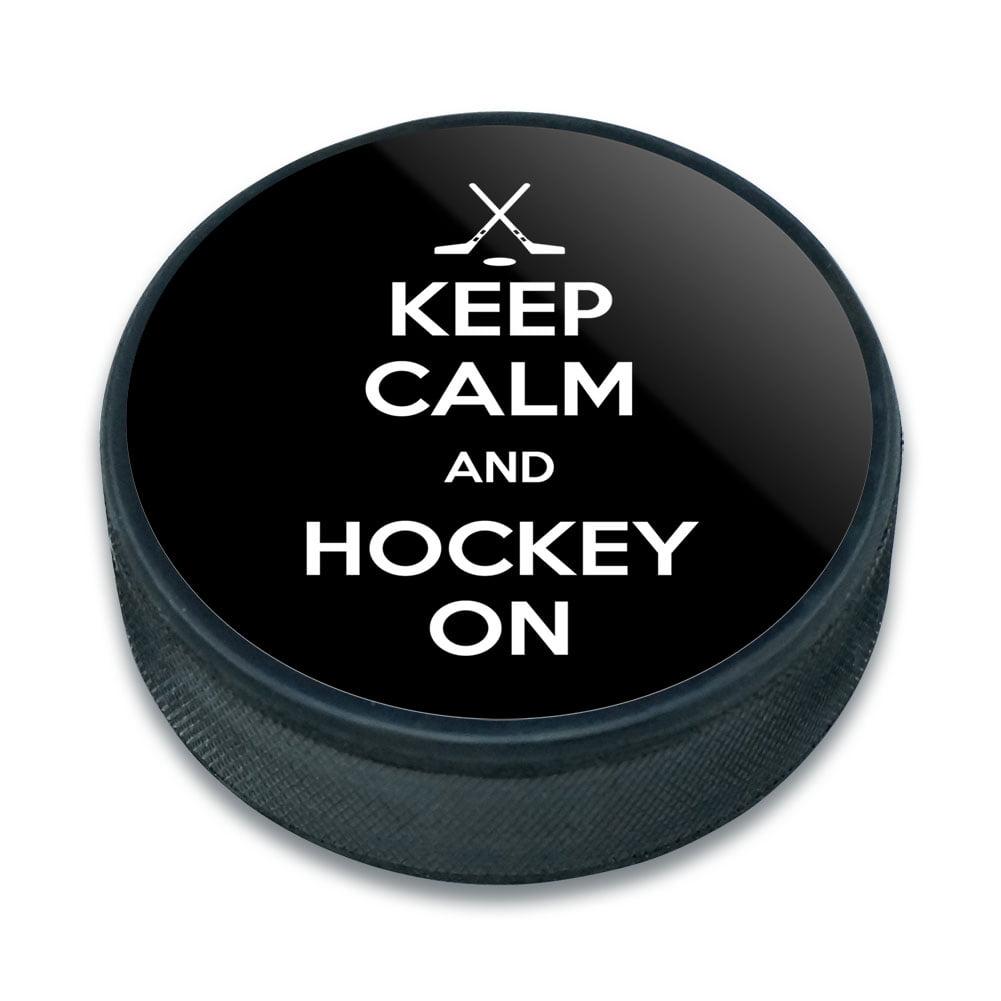 Hockey On Sports - Keep Calm and Ice Hockey Puck