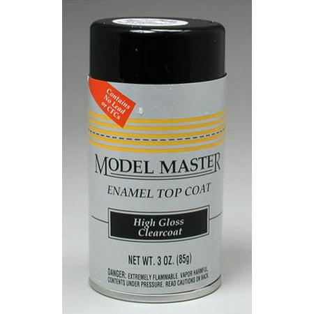 Testors Model Master Spray - Testors 2936 Model Masters High Gloss Clear Top Coat Spray Can